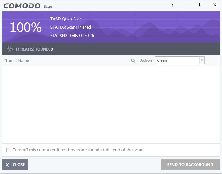 Screenshot for Comodo Internet Security Installation/Setup 10