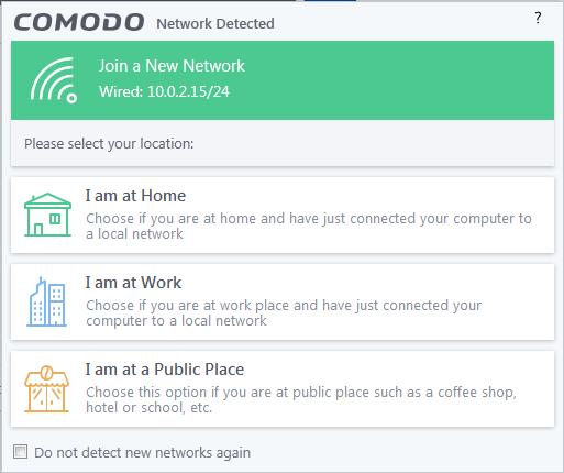 Screenshot for Comodo Internet Security Installation/Setup 13