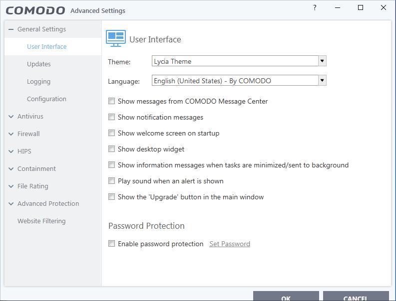 Screenshot for Comodo Internet Security Installation/Setup 16