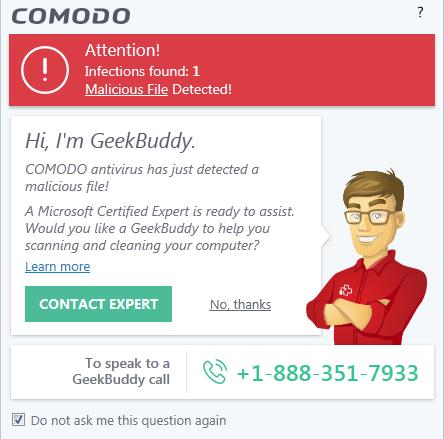 Screenshot for Comodo Internet Security Installation/Setup 20