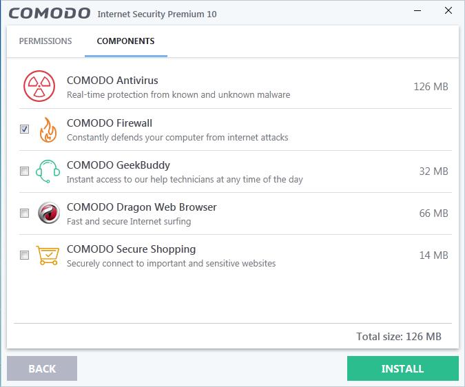 Screenshot for Comodo Internet Security Installation/Setup 7
